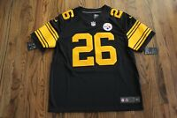 44 Le'Veon Bell Pittsburgh Steelers Nike Color Rush NFL JERSEY Men L 819066-011