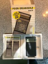 PSION Organiser II Model XP with box. In full working order