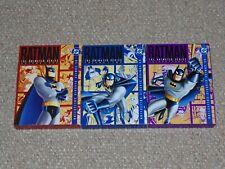 Batman: The Animated Series Vol. 1 2 & 3 DVD Box Set Lot