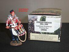 King and Country CRW30 GUERRA di Crimea Coldstream Guards Drummer BOY Giocattolo Soldato