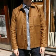 VESTE JACKET HOMME CARHARTT FYNN JACKET (hamilton brown rigid) SIZE M PRICE130€