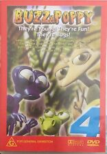 Buzz & Poppy Dvd They're Young They're Fun They're Bugs 🐜 R4 🇦🇺New Sealed
