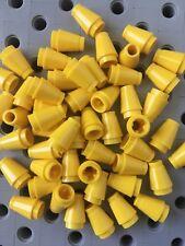 LEGO 1x1 Black Round Nose Cones Bricks Small New Lot Of 50