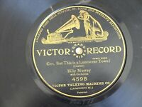 """Billy Murray """"This is a Lonesome Town"""" Victor Grand Prize 1 sided 4598 - 78 rpm"""