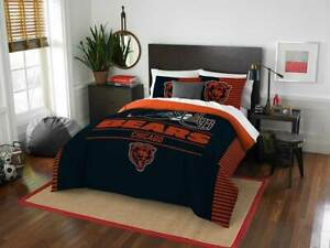 Chicago Bears NFL Northwest Draft Full/Queen Comforter Set FREE SHIPPING