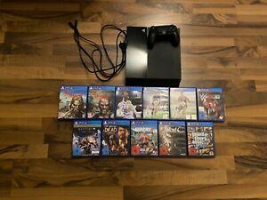 Sony Playstation 4 Mega Bundle | 11 Spiele (u.a. GTA V, Fifa ...) + 1 Controller