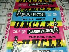 1967 Girl from U.N.C.L.E A&BC Wrapper Man from UNCLE