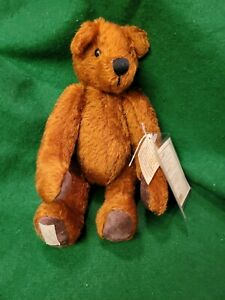 """Special Collectors Edition DEANS Rag Book teddy bear 'Hobson' 1999, tags, 12"""""""