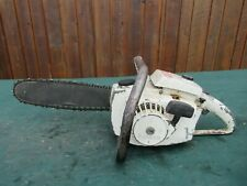"Vintage HOLIDAY PIONEER 1100W  Chainsaw Chain Saw with 12"" Bar"