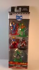 NANO METALFIGS 5 FIGURES DC 2 EXCLUSIVES BATMAN & LEX LUTHOR SUPERMAN PLUS MORE