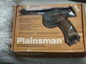 MARKSMAN Plainsman 1049 Semi Auto Co2 BB Pistol in Original Box untested