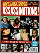 New Worlds Most Shocking Assassinations Special Edition True Crime 96 pages
