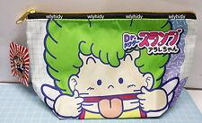 Dr.Slump Arale Chan Polyester Zip Bag #4 Japan Limit   , #1ok