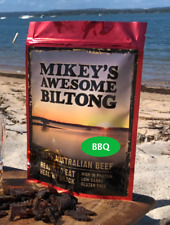 Mikeys Awesome Biltong - BBQ Flavour 225grams