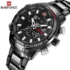 NAVIFORCE Luxury Brand Men Military Sport Watches Men's Digital Quartz Watch