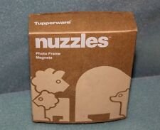 Tupperware Nuzzles Photo Frame Magnets NEW