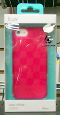 iLuv AI5GELCPN Gelato Checker Soft Flexible Case for iPhone 5 & 5S PIN