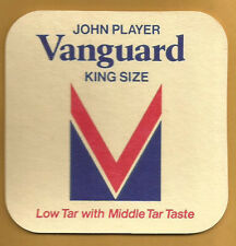 16 John Player Vanguard King Size Cigarettes    Bar / Beer Coasters