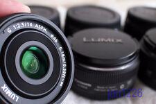 Panasonic 14mm F2.5  Lumix G Lens for M3/4 Black free ship