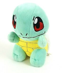 Pokemon Center Stand Stuffe Plush Squirtle Toy 6 Inch