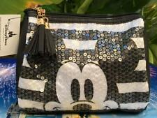 Disney Loungefly Mickey's 90th Sequined Zippered Clutch Purse Bag Pouch Nwt