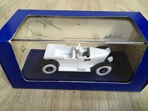 voiture tintin 1/43 atlas Tintin Au Pays Des Soviets La Mercedes Torpedo 050