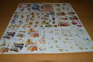Animlas 3D Decoupage Sheets Craft Clear Out