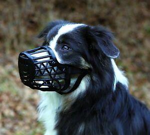 Trixie Muzzle, Plastic, Black, Various Sizes