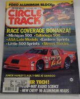 Circle Track Magazine Michigan 500 Talladega 500 November 1985 040317nonr