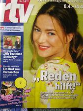 Zeitung , Zeitschrift , rtv , Hannah Herzsprung