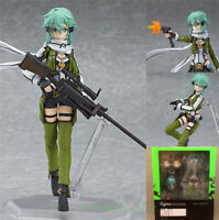 Anime Sword Art Online II Asada Shino Sinon Figure Figurine Toy In Box 20cm