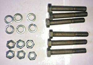 500101 King Kutter Grade 2 Shear Bolts Set of 6 Best Price on Ebay Free Shipping