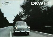 Auto Union DKW F11 Sales Brochure