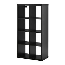 Ikea Kallax 2 x 4 Shelf Unit Black Brown 202.758.85