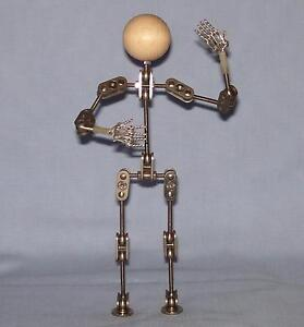 Model Armature kit for animation, stop motion or just fun, stainless steel.