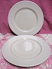 Dansk Rondure Rye Dinner Plates 10-7/8u201d Embossed Beaded Rim Pristine Set & Rondure Dansk China u0026 Dinnerware | eBay
