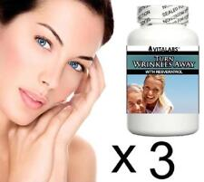 3 Anti Ageing Anti Wrinkle Tablet Pills Look Younger Fast Youthful Skin Collagen