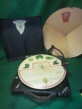 Polly Table Tisch Grammophon Gramophone mit Schall reflektor