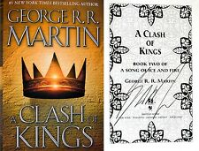 George R.R. Martin~SIGNED~A Clash of Kings~HC~BEAUTIFUL + PHOTOS!!!