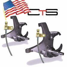 "1988-1998 Chevy/GMC C1500  2WD 4"" Lift Spindles Trucks SUV Ext Brakelines"