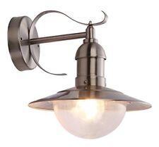 Mixed Lampada Applique da esterno acciaio Vetro Globo 3270