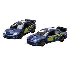 Boys Diecast 1/36 Scale Model Blue Subaru Impreza WRC 2007 Toy Car Present