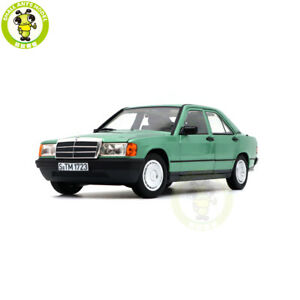 1/18 Norev 183824 Benz 190E W201 Diecast Model Toys Cars Boys Gilrs Gifts Green