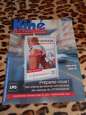 Revue Kiné Actualités - n° 1061, 2007
