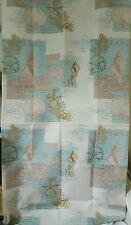Seashells Conch Clam Shell Seahorse Sand Dollar Shower Curtain Inspirational