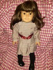 "American Girl  Samantha 18"" Doll Brown Hair Brown Eyes Pleasant Company Vintage"
