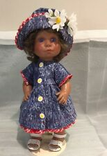 Lee Middleton Collectible Doll ~~Signed and Numbered 194~~Dressed in Denim w/Hat