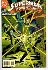 SUPERMAN ADVENTURES # 62 VF/NM 2001 CARTOON METALLO LEX LUTHOR LANE LOW PRINT