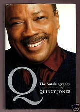 Q - THE AUTOBIOGRAPHY OF QUINCY JONES SIGNED 1ST HB-VERY GOOD CONDITION