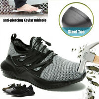 Mens Safety Work Shoes Steel Toe Boots Indestructible Outdoor Casual Sneakers T5